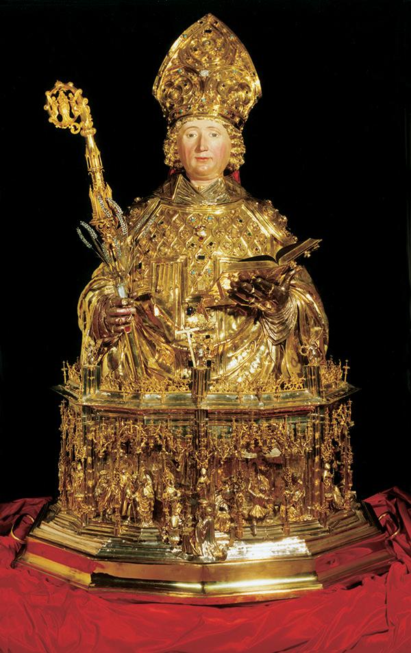 buste reliquaire liège